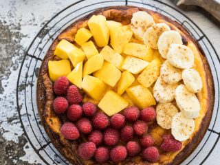 Ricotta cheesecake | everydayhealthy.nl