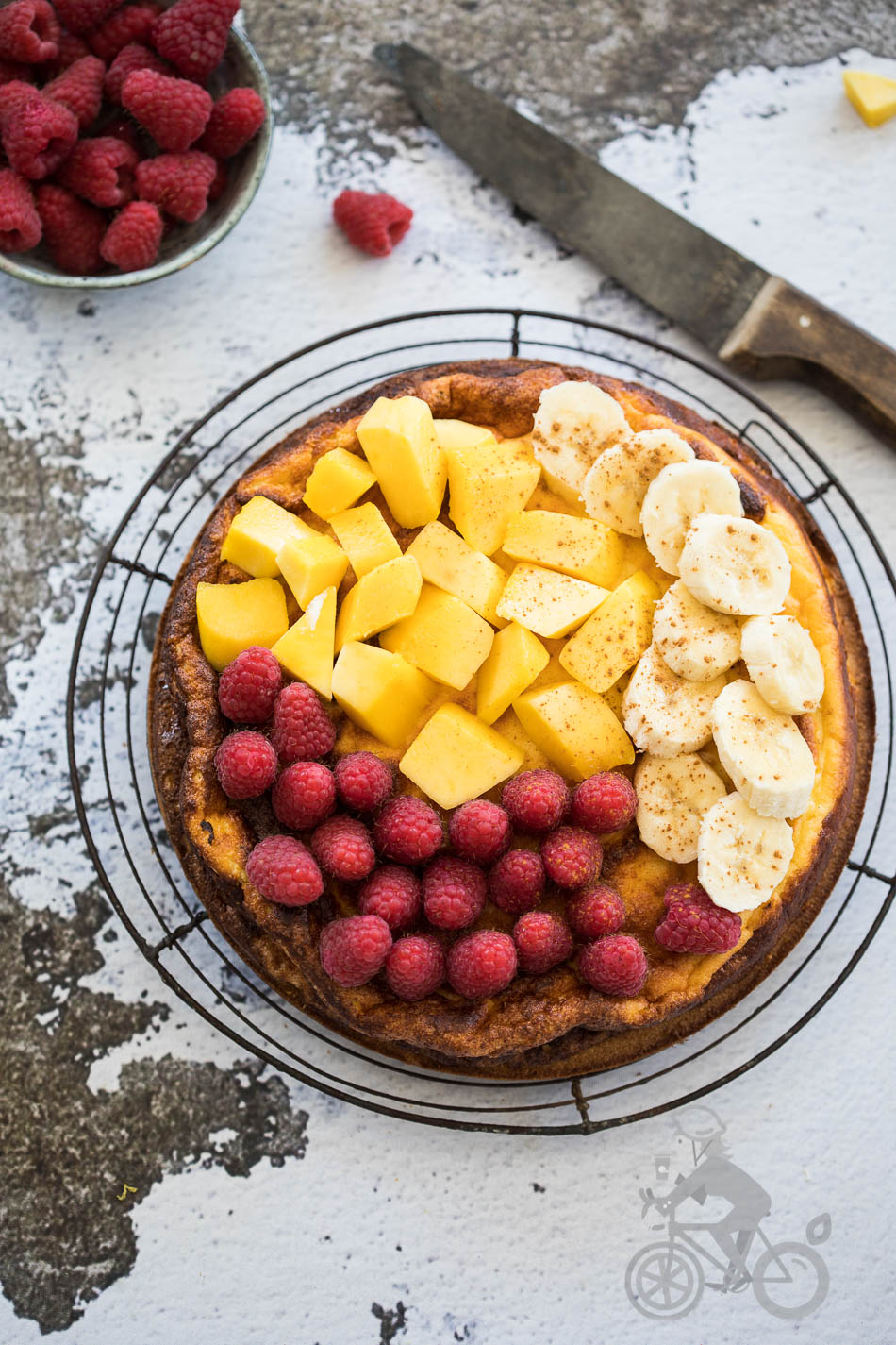 Ricotta cheesecake van Eat drink paleo